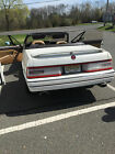 Cadillac: Allante Pearl White, with Tan interior and Black Soft Top UPDATE NEW LOW PRICE due to light damage, Pearl with Hardtop, many new parts!