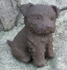 Cast Stone Cement Yorkshire Puppy Dog Outdoor Garden Statue for sale  Snohomish