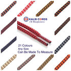 ROUND ROPE SHOE LACES WITH FLECK FOR TRAINERS BOOTS HIKING STRONG CORD SHOELACES