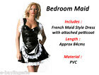 Sexy Black and White French Maid Costume Party Dress Up Halloween Valentines
