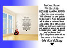 In This House We Do Disney Inspired Wall Art Sticker Vinyl Decal Home Decor