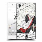HEAD CASE DESIGNS FASHION COLLAGE HARD BACK CASE FOR SONY XPERIA Z5 COMPACT