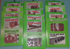 Brand New and Unmade Metcalfe OO Gauge Model Railway Buildings