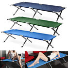 Heavy duty super light folding camp camping guest bed Travel Outdoor Bed + bag
