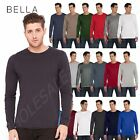 NEW  Bella + Canvas Men's Jersey Long-Sleeve S-2XL T-Shirt M-3501
