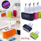 EU Plug 3.1A USB Port Wall Home Travel AC Charger Adapter For Samsung For iPhone