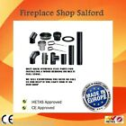 stove flue pipes 125mm 150mm for wood burning stove log burner multi fuel stoves