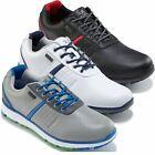 *NEW 2016* STUBURT CYCLONE eVent WATERPROOF Mens SPIKELESS GOLF SHOES - LEATHER