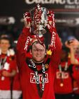 MANCHESTER UNITED LEAGUE CUP WINNERS 2010 02 WAYNE ROONEY (FOOTBALL) PHOTO PRINT