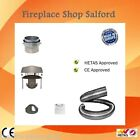 chimney flue liner 316 multifuel flexi with anti downdraught cowl & fixing kit
