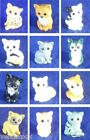 NEW CAT MINI FIGURE CAKE TOPPER DECORATIONS BIRTHDAY PARTY GIFT SIAMESE CALICO