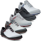 2016 ECCO GOLF CAGE SPIKES WATERPROOF - HYDROMAX LEATHER MENS GOLF SHOES