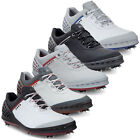ECCO GOLF CAGE SPIKES WATERPROOF - HYDROMAX LEATHER MENS GOLF SHOES