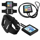 Watch Band for Apple iPod 6 mp3 Necklace player case cover silicon PiGGyB Groovy