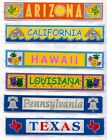 STATE Stickers~Several Varieties~Lot of 2~ Really Cute & useful!!
