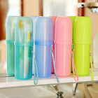 Hot Travel Toothbrush Case Cover Toothpaste Holder Storage Orangizer Box Cup