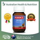 FUSION HEALTH MEMORY TABLETS CLINICALLY PROVEN - ALL SIZES + FREE SHIPPING $26.95 AUD on eBay