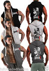 Mens Gym Hardcore Bodybuilding REPS for JESUS Motivation Hooded Sleeveless Top