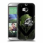 HEAD CASE DESIGNS METAL CHEVRON SOFT GEL CASE FOR HTC ONE M8
