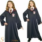 Girls Hermione Granger Gryffindor Robe Harry Potter Halloween Fancy Dress Outfit