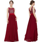 Fashion Sexy Women Lace Mesh V Back Cocktail Party Evening Long Dress New