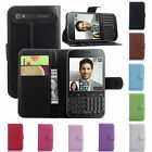 Fashion Card Wallet Pu Leather Case Flip Cover Skin For BlackBerry classic Q20