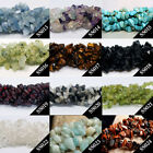 "34"" Strand Natural Gemstone Freeform Gravel DIY Loose Beads 5-8mm Jewelry Making"