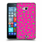 HEAD CASE DESIGNS NEON PRINTS SOFT GEL CASE FOR MICROSOFT PHONES