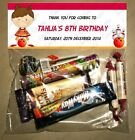 PERSONALISED BIRTHDAY LOLLY/LOOT BAG & TOPPER - Bowling Girl/Ten Pin