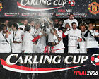 MANCHESTER UNITED LEAGUE CUP WINNERS 2006 (FOOTBALL) 01 PHOTO PRINT