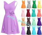 New Short  Woman's Prom gown Evening Bridesmaid Formal Party Dress Size 6-22