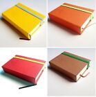 """Pocket Sketchbook, 3""""x4"""", Blank Notebook, Travel Journal-8 colors available"""
