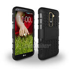 Heavy Duty Tough Shockproof Hard Stand Case for LG G2 D800 D801 D802 D803 D802TA