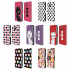 HEAD CASE DESIGNS CATS AND DOTS LEATHER BOOK WALLET CASE FOR HTC ONE M8 M8S