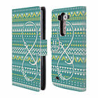 HEAD CASE DESIGNS INFINITY AZTEC LEATHER BOOK WALLET CASE COVER FOR LG G3 S BEAT