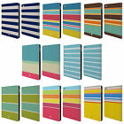 HEAD CASE DESIGNS STRIPES COLLECTION LEATHER BOOK CASE FOR APPLE iPAD AIR 2