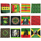 Bob Marley Marijuana Hemp Jamaica Unisex Bandana Head Neck Scarf - Choose One