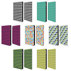 HEAD CASE DESIGNS HOUNDSTOOTH-PATTERNS LEATHER BOOK CASE FOR APPLE iPAD MINI 4
