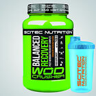 SCITEC NUTRITION WOD CRUSHER BALANCED RECOVERY 2100g + Shaker