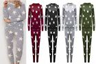 New Women Ladies Two Piece Star Set Nightwear Lounge Wear Casual Joggers Sweater