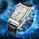 WINNER Mens Automatic Mechanical Wristwatch with Date Watch Box Black White T7A4