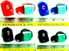 2 MLB BASEBALL GUMBALL HAT CAPS CHALK HOLDERS FOR BILLIARDS POOL - YOU PICK TEAM