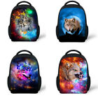 Girls Boys Cool-headed Horse Small School Book Bags Preschool Backpacks for Kids Baby