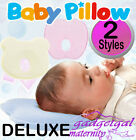 DELUXE Newborn New Baby Infant Pillow Memory Foam Bear or Apple shape