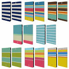HEAD CASE STRIPES COLLECTION LEATHER BOOK CASE FOR SAMSUNG GALAXY TAB S2 9.7