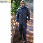 MENS REGATTA ADULT 2 PIECE RAIN SUIT WATERPROOF JACKET TROUSERS TRW467 or TRW475
