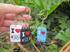5 Seconds of Summer 5SOS Dog Tag key chain ring a random colour one sent
