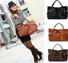 New Women's PU Shoulder Satchel Messenger Cross Body Bag Tote Lady Purse Handbag