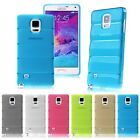 NEW Slim TPU Gel Clear Back Case Cover Skins for Samsung Galaxy Note 4 IV N910