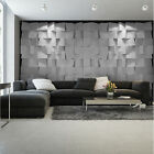 Photo Wallpaper SILVER SQUARE IN 3D Wall Mural (3169VE)